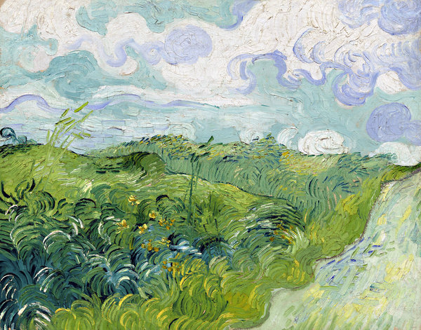 Vincent van Gogh, Green Wheat Fields, Auvers 1890