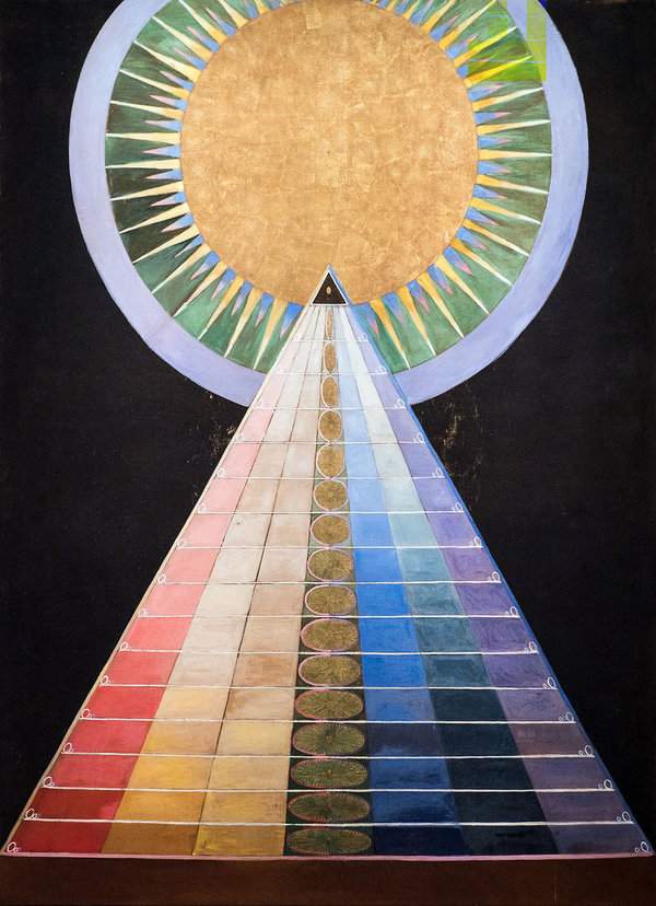 Hilma af Klint, Group X, No. 1. Altarpiece, 1915