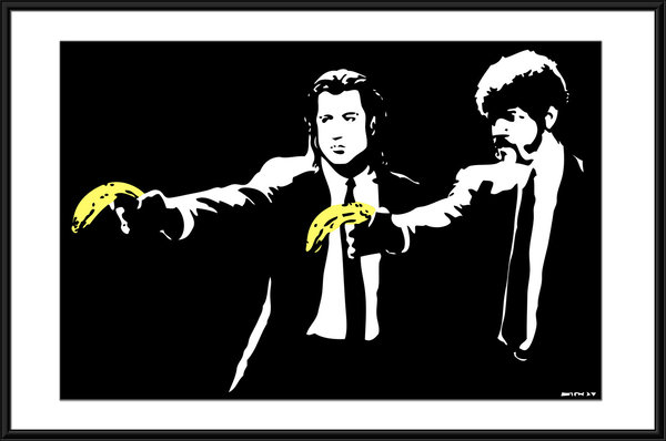 Banksy - Pulp Fiction