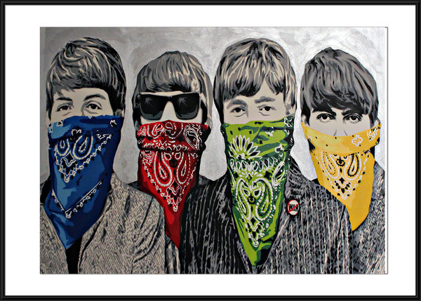 Banksy Beatles Bandana